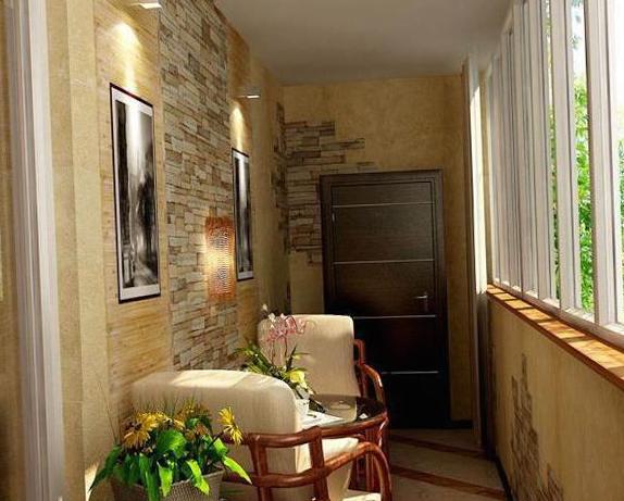 Интерьер балкона - 15