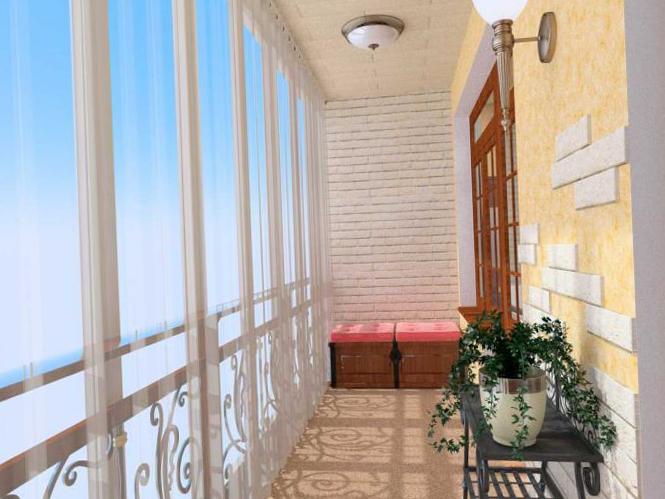 Интерьер балкона - 17