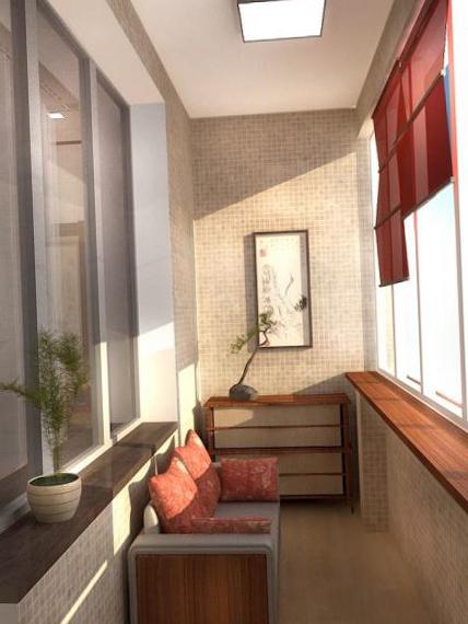 Интерьер балкона - 19