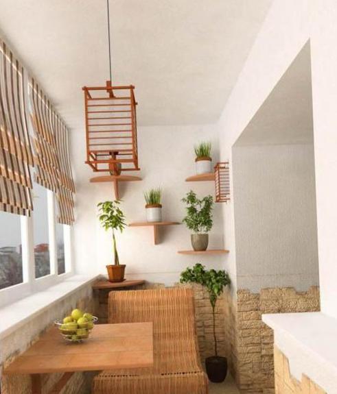 Интерьер балкона - 20