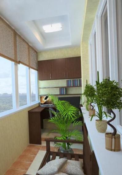 Интерьер балкона - 21