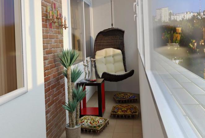 дизайн балкона и лоджии - фото 1