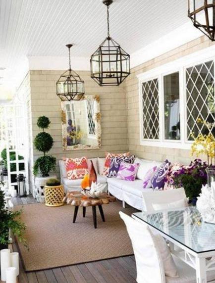 Райский сад на балконе