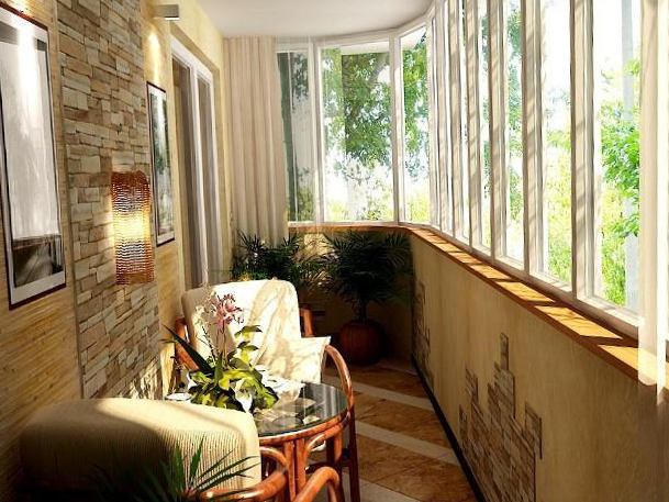 Балкон - фото