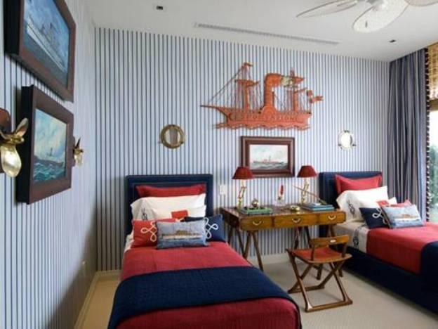Дизайн комнаты для двоих детей 1