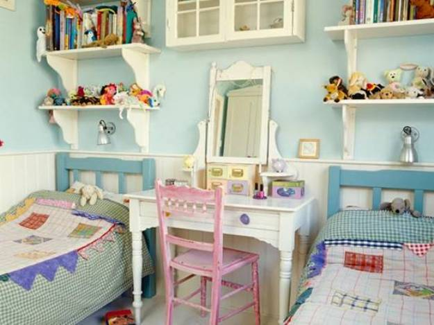 Дизайн детской комнаты двух детей