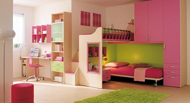 Дизайн комнаты для двух девочек 3
