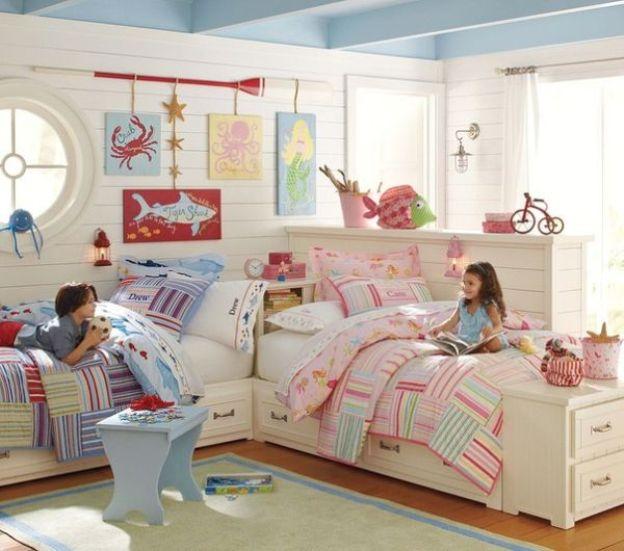 Дизайн комнаты для мальчика и девочки 2
