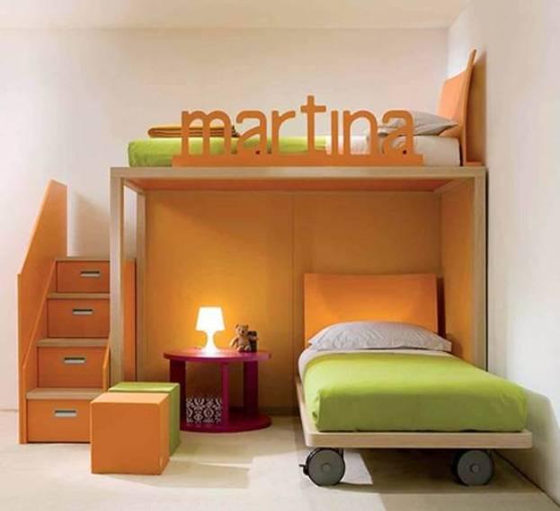 Фото дизайна детской комнаты для девочки 2