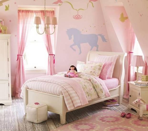 Фото детской комнаты принцессы