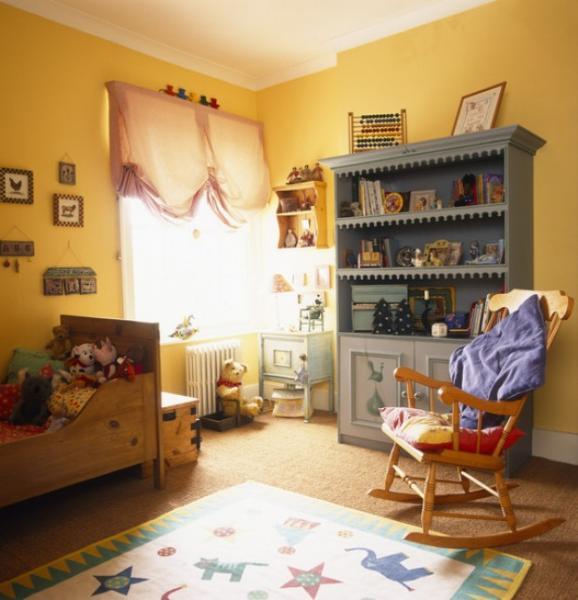 Дизайн детской комнаты - фото