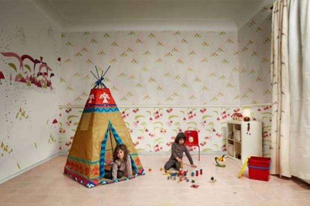 Детская комната средней величины