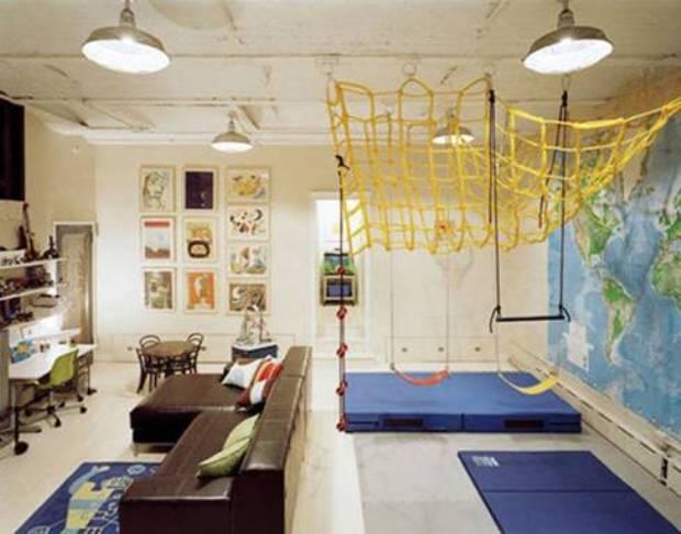 Дизайн детской для большой комнаты 2