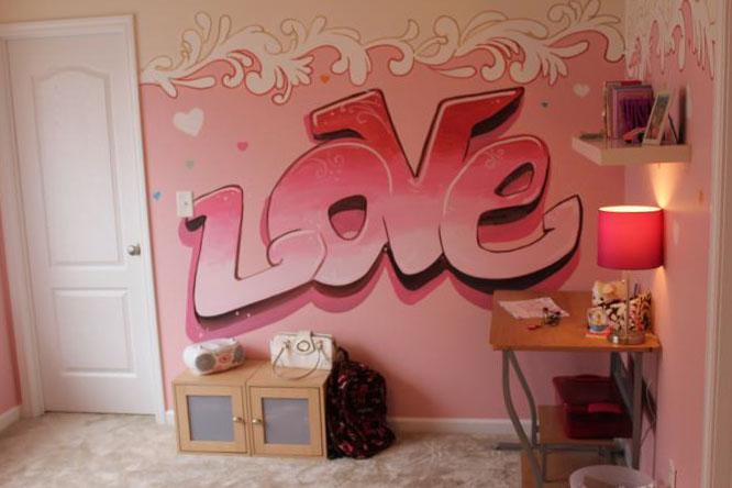 Интерьер комнаты для девочки-подростка 6