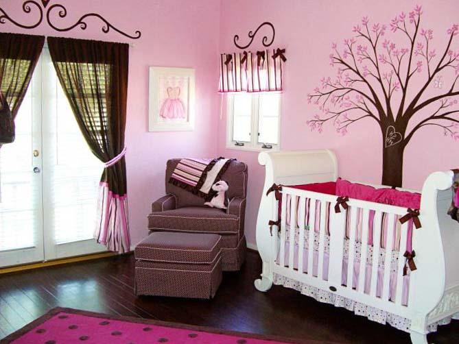 Спальня для девочки 9