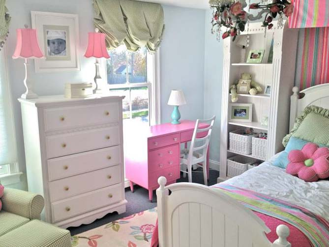 Спальня для девочки 10