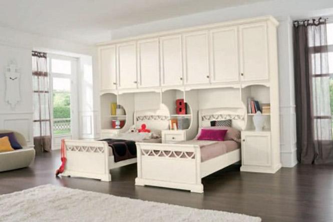 Как сделать интерьер комнаты для двух девочек 4