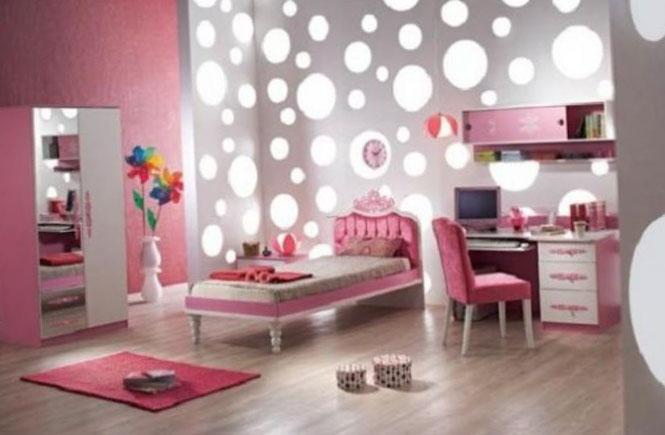 Детская спальня для девочки - интерьер 2