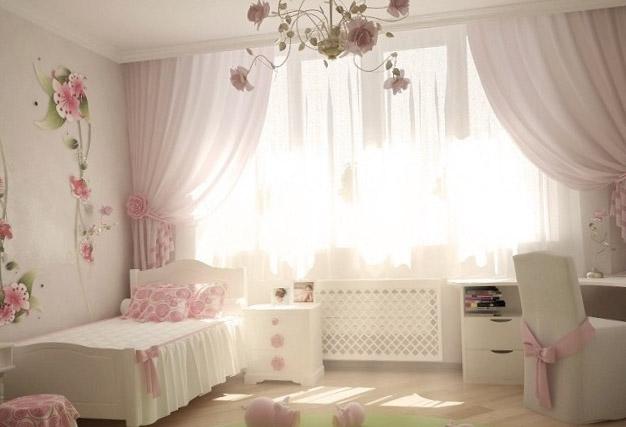 Детская спальня для девочки - интерьер 3