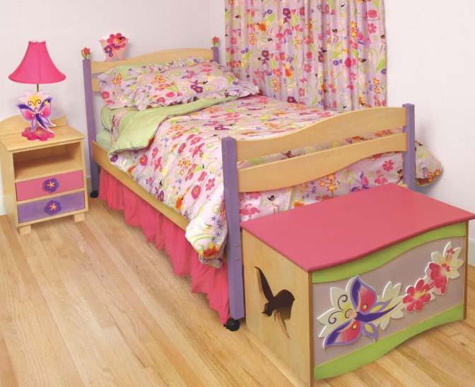 Детская спальня для девочки - интерьер 4