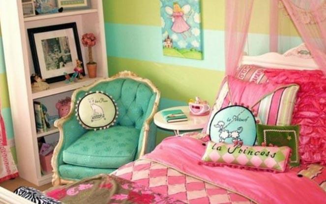 Детская спальня для девочки - интерьер 5