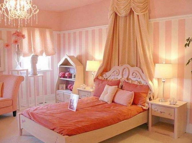 Интерьер комнаты для девочки-подростка 8