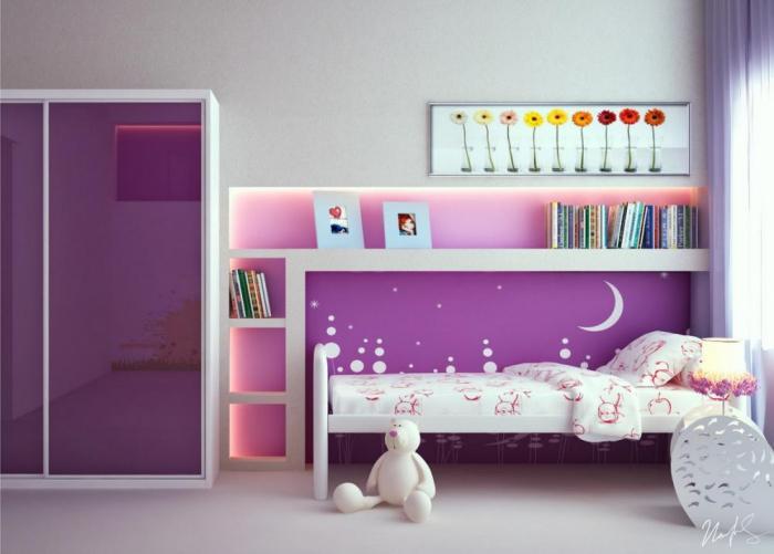 Комната для девочки 2-3 лет 7