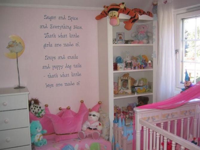 Комната для девочки 2-3 лет 8