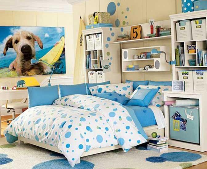 Комната для девочки 10-12 лет 6