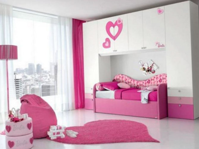 Комната для девочки 10-12 лет 7