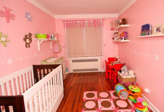 Комната для девочки 2-3 лет 9
