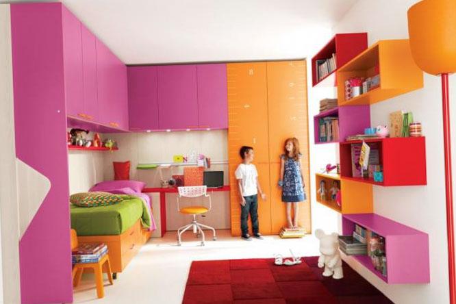 Детская спальня для девочки - интерьер 8