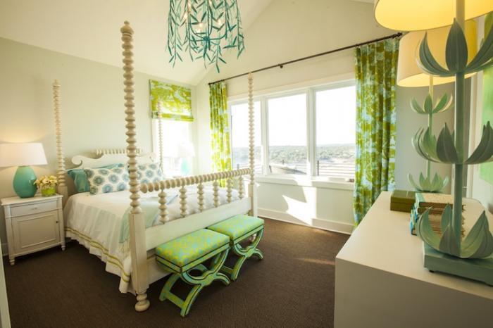 Дизайн детской комнаты в стиле модерна