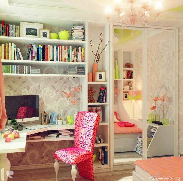 Комната для девочки 10-12 лет 3