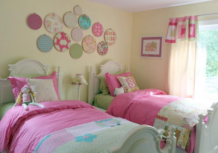 Как сделать интерьер комнаты для двух девочек
