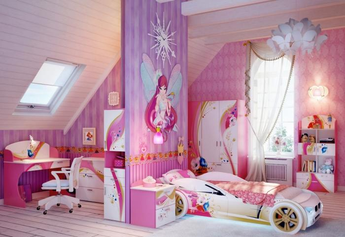 Интерьер комнаты для девочки 2