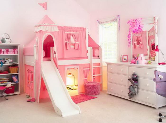 Интерьер комнаты для девочки 3