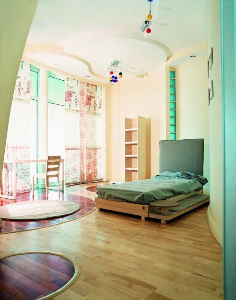 Детская спальня в стиле минимализм