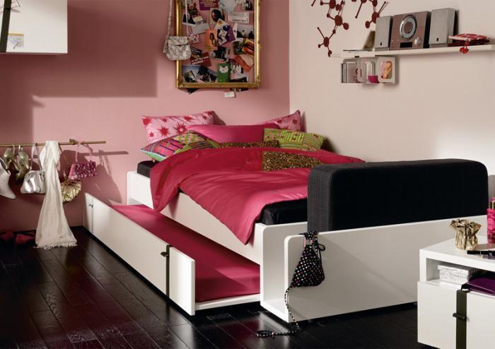 Интерьер комнаты для девочки 4