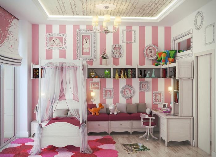Как оформить детскую комнату для девочек