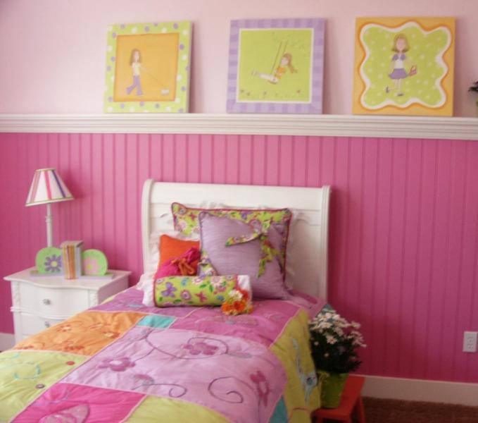 Интерьер детской комнаты 4