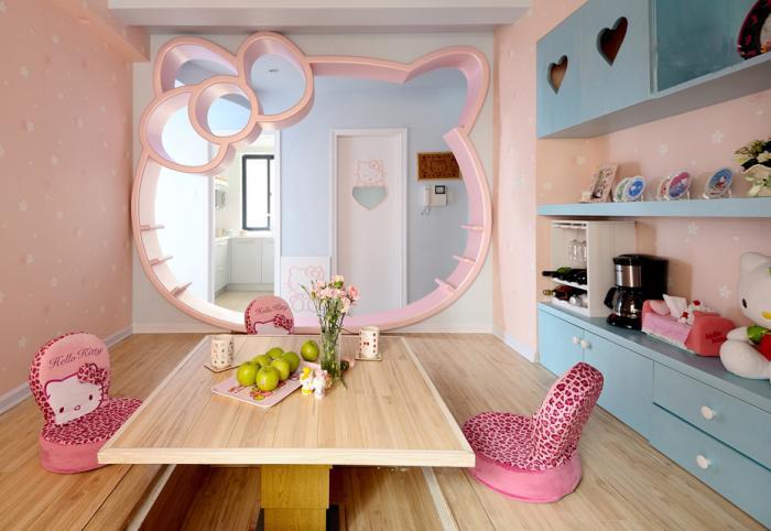 Дизайн комнаты для девочки 1