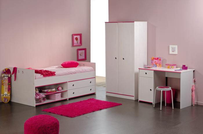 Фото детской комнаты для девочки 3