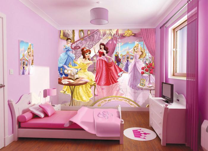 Фото дизайна детской комнаты для девочки