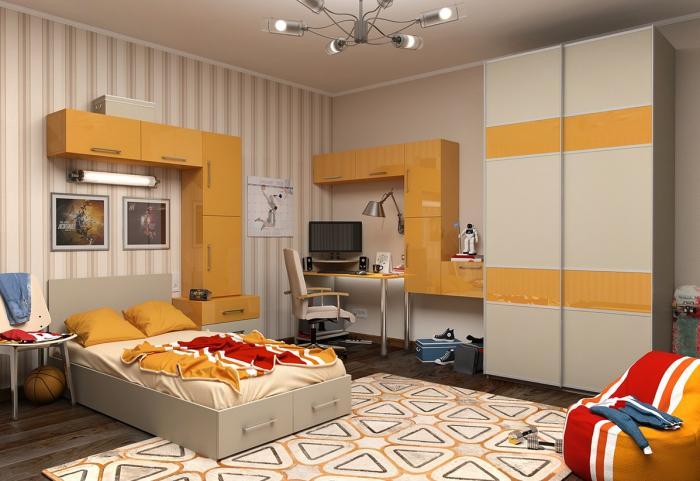 Дизайн комнаты от 20-30 кв м