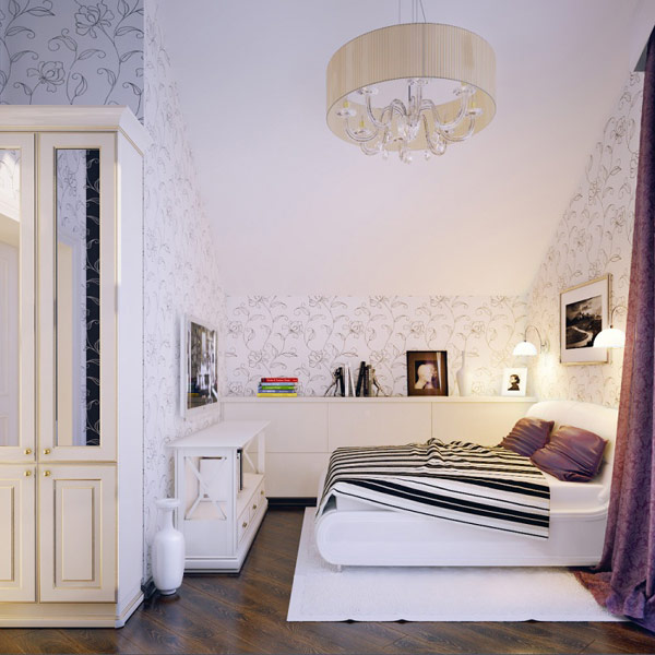 Дизайн интерьера детской спальни 1