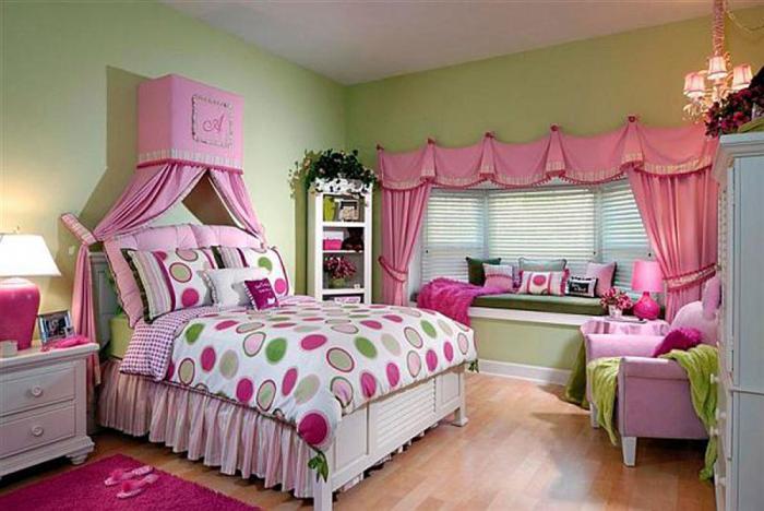 Дизайн интерьера детской спальни 3