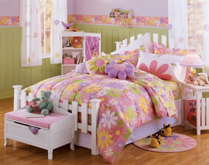 Дизайн интерьера детской спальни 5