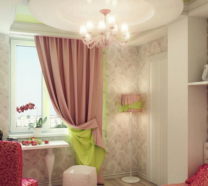 Дизайн интерьера детской спальни 7