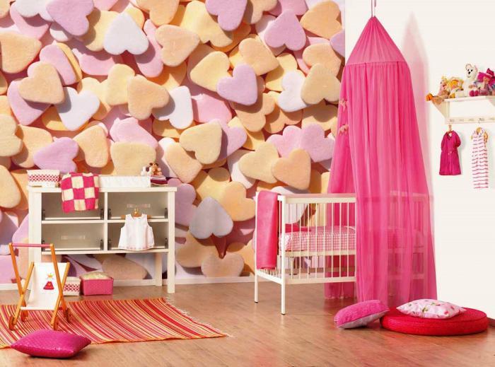 Дизайн интерьера детской спальни 9